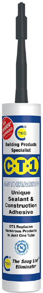CT1 Sealant & Construction Adhesive - Anthracite - 535307
