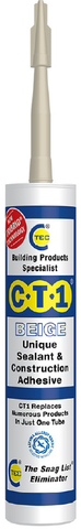 CT1 Sealant & Construction Adhesive - Beige - 535906