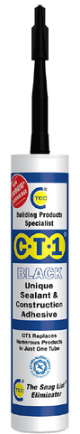 CT1 Sealant & Construction Adhesive - Black - 535106