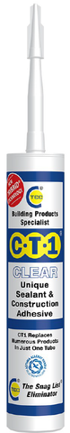 CT1 Sealant & Construction Adhesive - Clear - 539506