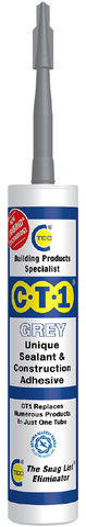 CT1 Sealant & Construction Adhesive - Grey - 535306