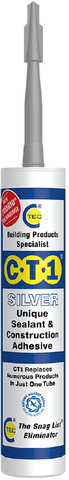 CT1 Sealant & Construction Adhesive - Silver - 535706