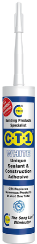 CT1 Sealant & Construction Adhesive - White - 535206