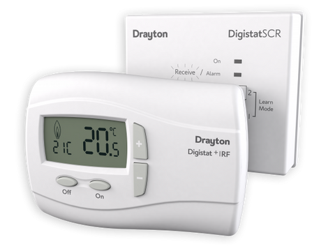 Drayton RF710 Digistat+RF Wireless Room Thermostat - Kent Plumbing Supplies