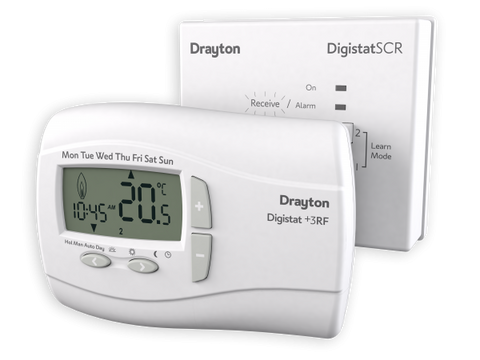 Drayton RF701 Digistat+RF Wireless Room Thermostat - Kent Plumbing Supplies