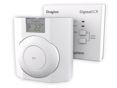 Drayton RF601 Digistat+RF Wireless Room Thermostat - Kent Plumbing Supplies