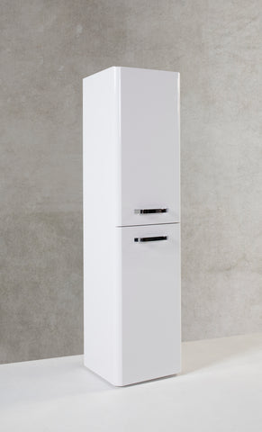 Kartell K-Vit Options 350mm Wall Hung Tall Unit - White