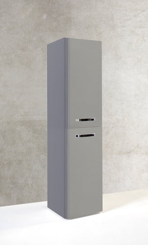 Kartell K-Vit Options 350mm Wall Hung Tall Unit - Basalt Grey