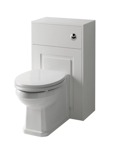 Kartell K-Vit Astley 500mm WC Unit Set - Matt White