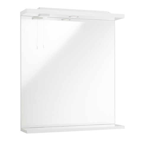 Kartell K-Vit Impakt 650mm Mirror With Lights