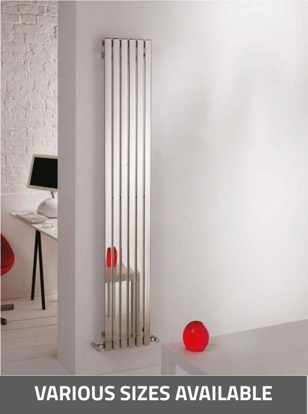 Kartell K-Rad Florida Vertical/Horizontal Radiator - Stainless Steel