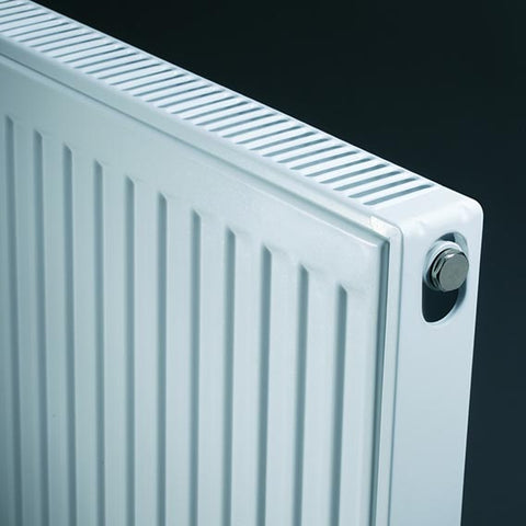 K-Rad Kompact 400mm x 400mm Type 22 Double Convector Compact Radiator - Kent Plumbing Supplies