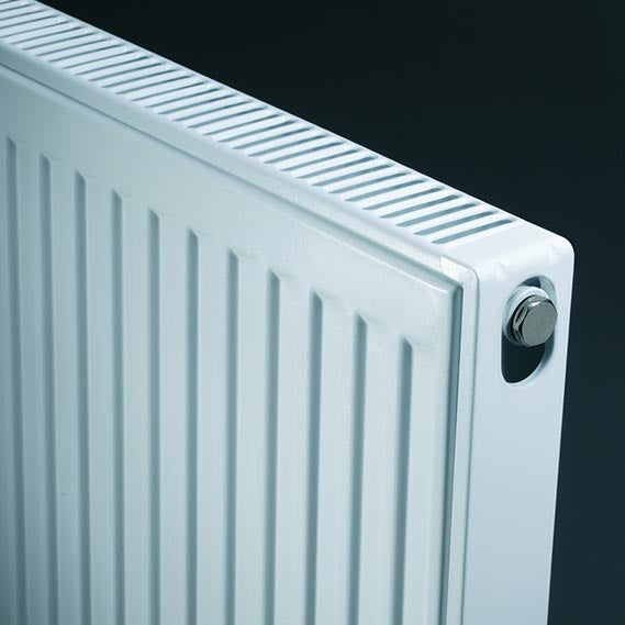 K-Rad Kompact 400mm x 1100mm Type 22 Double Convector Compact Radiator - Kent Plumbing Supplies
