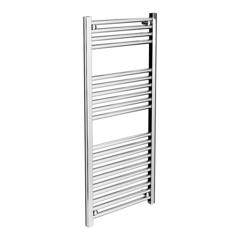 KPS 300x1000mm Chrome Straight Towel Radiator