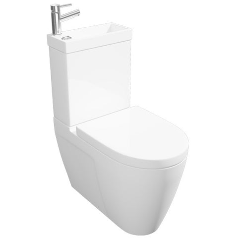 K-Vit Combi 2-in-1 WC & Basin - Kent Plumbing Supplies