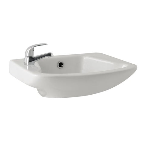 K-Vit G4K 520MM 1TH Cloakroom Basin - Kent Plumbing Supplies