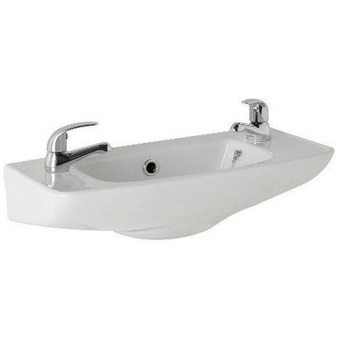 K-Vit G4K 520MM 2TH Cloakroom Basin - Kent Plumbing Supplies