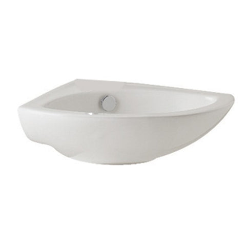 K-Vit G4K 410MM 1TH Corner Basin - Kent Plumbing Supplies