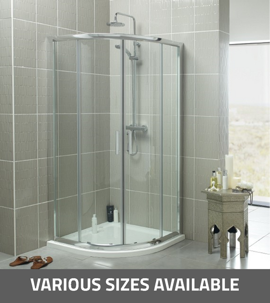 K-Vit Koncept Quadrant Shower Enclosure - Kent Plumbing Supplies