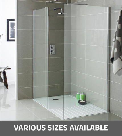 K-Vit Koncept Wet Room Screen - Kent Plumbing Supplies