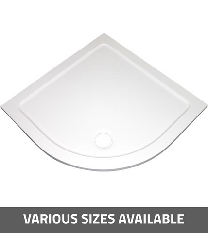 K-Vit Low Profile Quadrant Shower Tray - Kent Plumbing Supplies