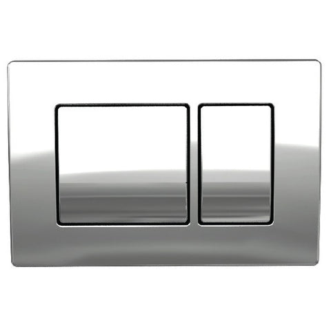 K-Vit Keytec Flushplate - Chrome - Kent Plumbing Supplies