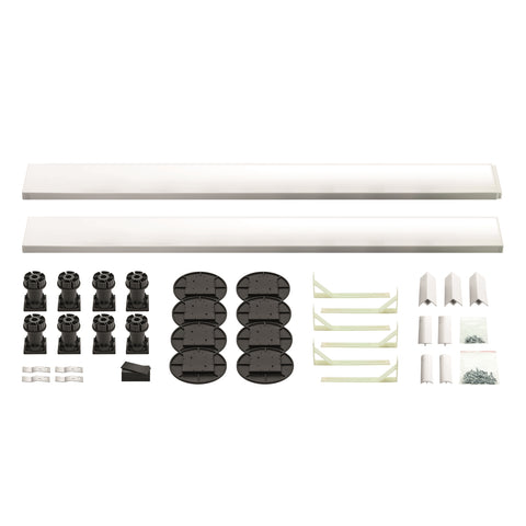 K-Vit Low Profile Offset Quadrant Easy Plumb Kit - Kent Plumbing Supplies
