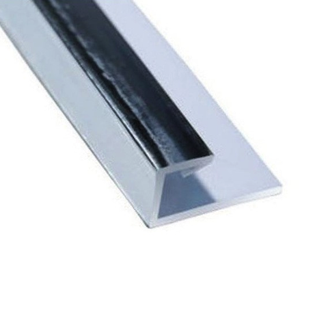 K-Vit PVC Wall Panel Trim - End Cap ABS Chrome - Kent Plumbing Supplies