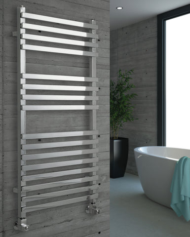 Kartell K-Rad Mode Heated Towel Rail - Chrome