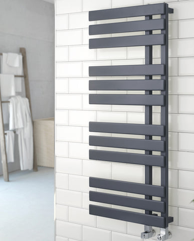 Kartell K-Rad Oregon Heated Towel Rail - Anthracite