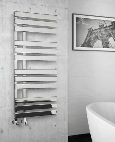 Kartell K-Rad Oregon Heated Towel Rail - Chrome