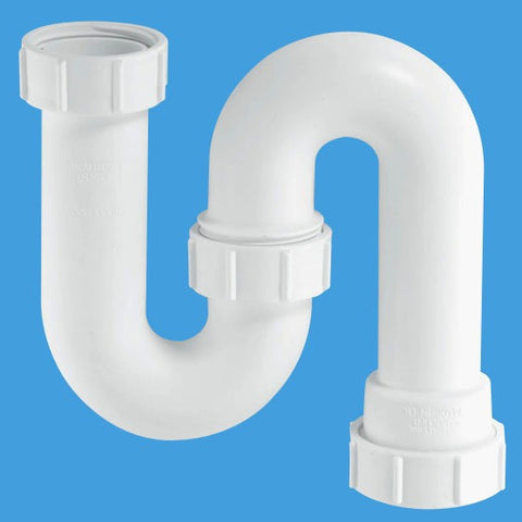 "McAlpine SB10 Seal Tubular Swivel P-Trap 1.1/4"" x 3"" - Kent Plumbing Supplies"