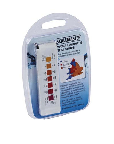 Scalemaster Water Hardness Test Strips - 6 Pack 901008 - Kent Plumbing Supplies