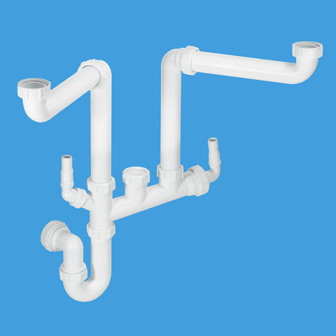 McAlpine SSK2 Spacesaver Sink Kit - Kent Plumbing Supplies