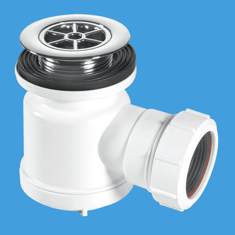 "McAlpine STW3-R Seal Shower Trap Plus Waste 1.1/2"" x 19mm"