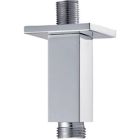 Pura Brass Square Ceiling Mounted Fixed Shower Arm 75mm KI031A - Kent Plumbing Supplies