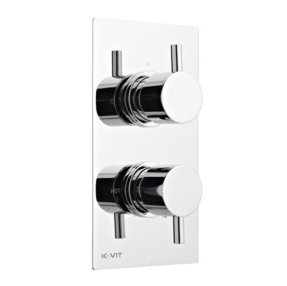 Kartell K-Vit Plan Concealed Thermostatic Valve & Diverter