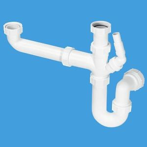McAlpine SK2 Standard Double Bowl Kit - Kent Plumbing Supplies