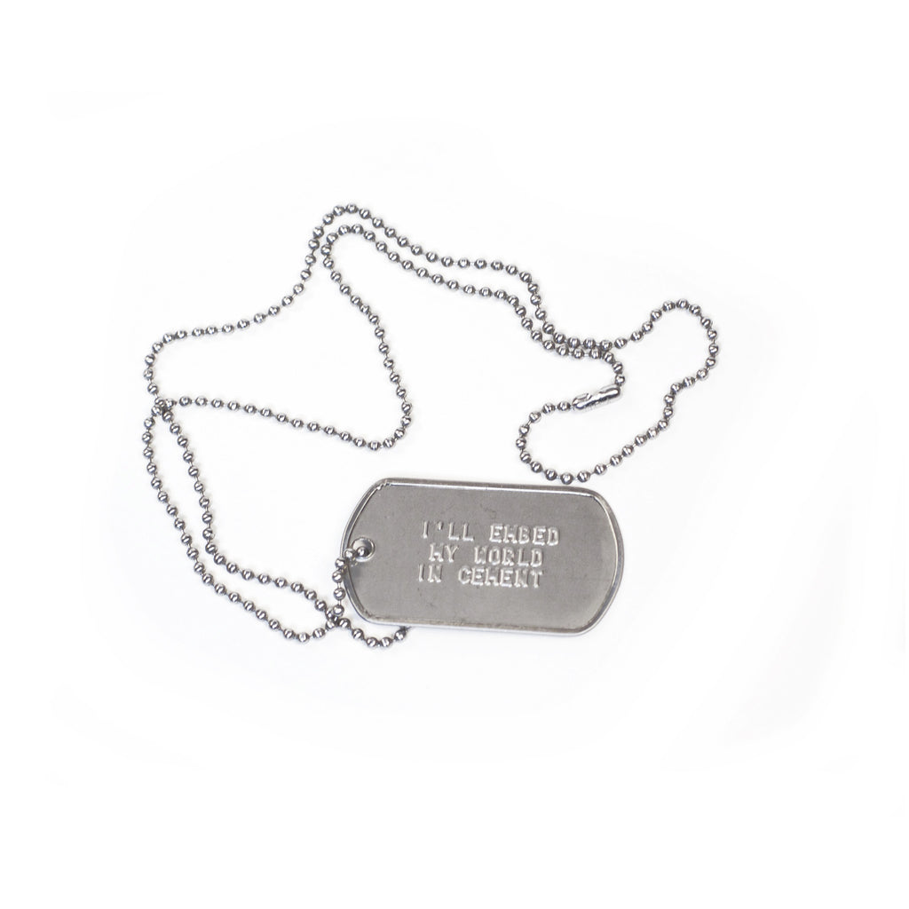 DIVE DOG TAG