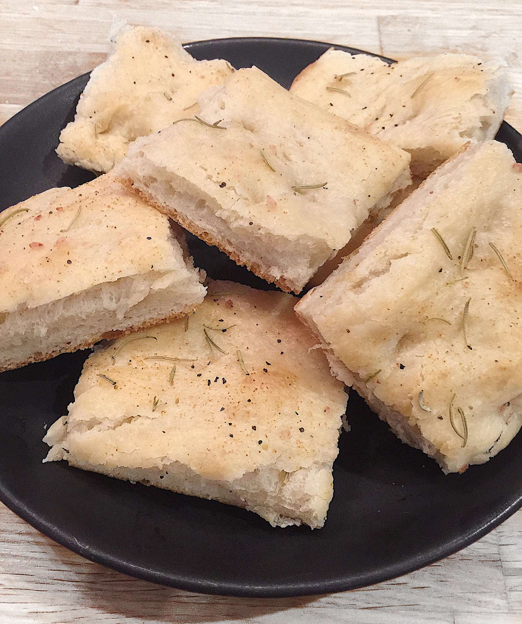 Take It Easy Foccacia Bread.....