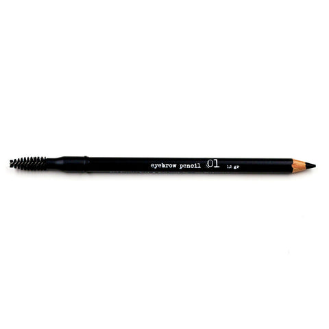 The BrowGal Skinny Eyebrow Pencils 01 Black