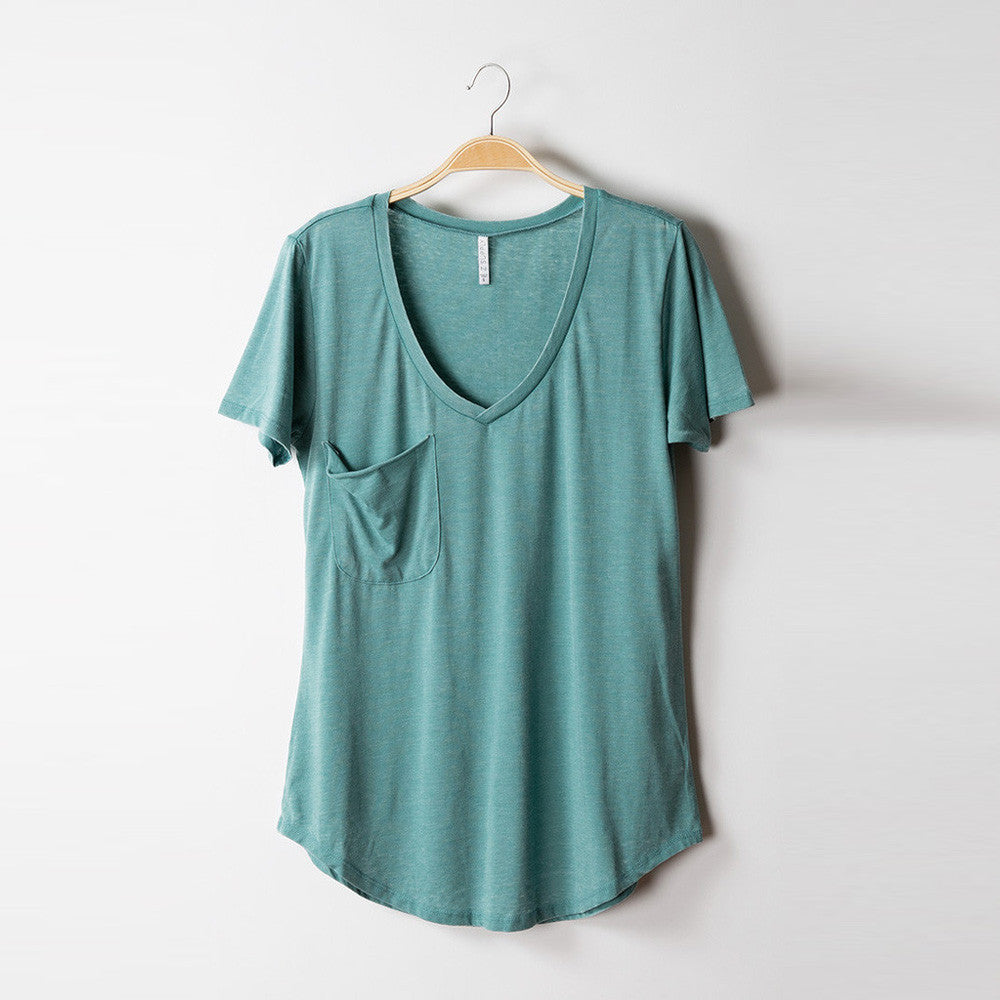 Z Supply The Pocket Tee Faded Green
