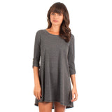 Z Supply The Symphony Dress Charcoal