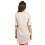 Z Supply The Symphony Dress Light Grey