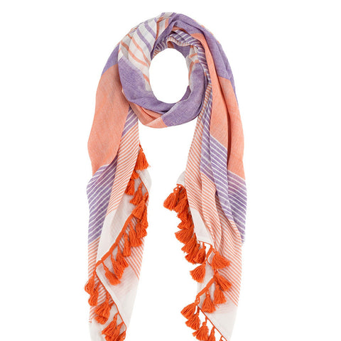 Shiraleah Renata Multi Coloured Scarf