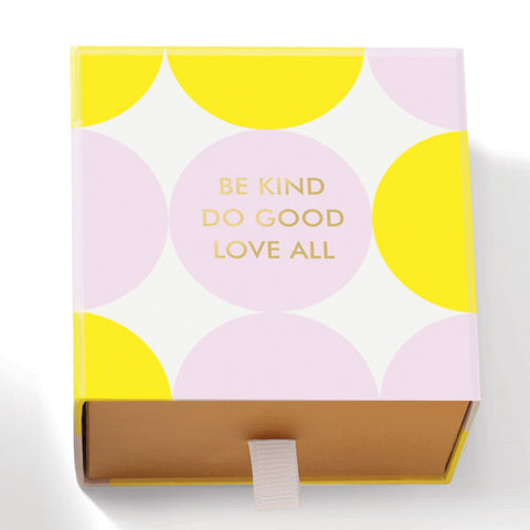 "Fringe Luxury Triple Milled Boxed Soap ""Be Kind Do Good Love All"""