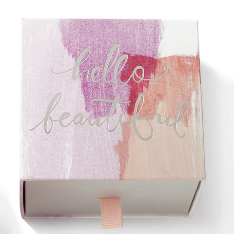 "Fringe Luxury Triple Milled Boxed Soap ""Hello Beautiful"""