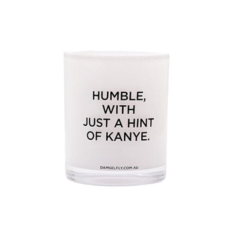 Humble, With Just A Hint Of Kanye. - Candle By Damselfly