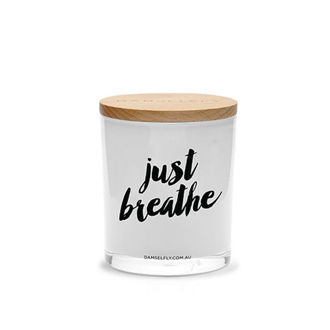 Just Breathe - Candle By Damselfly
