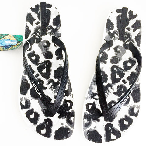 Ipanema Animal Print Flip Flop